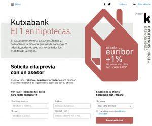 Contratar Hipoteca Kutxabank